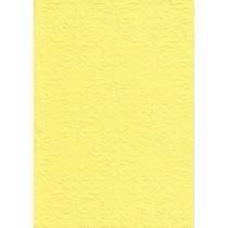 """Бумага с рельефным рисунком """"Дамасский узор"""" Цвет:Жёлтый"""