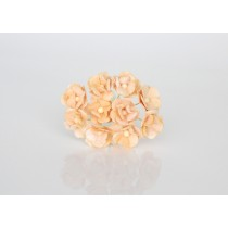 Цветы вишни средние - Св.персиковые 136, 1 шт