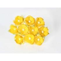 Цветы вишни средние - Желтые 144 #2 , 1 шт