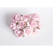 Кудрявые розы 2 см - Св.сиреневые 1 шт