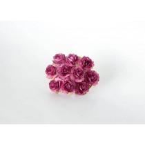 Кудрявые розы 2 см - Сиреневые теплые 1 шт