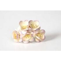 Цветы вишни - Св.сиреневый+молочный 542 1 шт, диаметр цветка ок. 2см