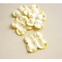Гортензии маленькие Св.желтые 3 см, 1 шт