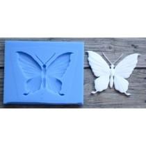 """Молд """"Бабочка 2"""" малая, Размер 3х2,3 см"""