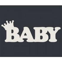BABY с короной (6х2,2 см), CB186