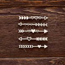 Стрелочки - сердечки (6 х 0,8 см (1 элем)), CB480