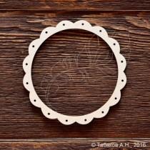 Круглая рамка №12 8,5см,(внутренний размер 7,2см), CB604