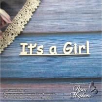 It s a Girl РАЗМЕР: 6 х 1,1 см
