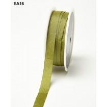 Лента May Arts SOLID / WRINKLED, ширина 1,27 см, цвет OLIVE, 1 метр