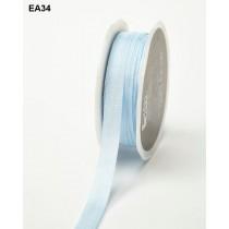 Лента May Arts SOLID / WRINKLED, ширина 1,27 см, цвет LIGHT BLUE, 1 метр