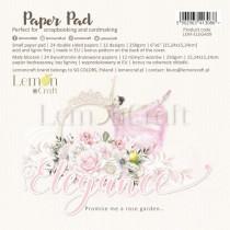 """Набор двусторонней бумаги """"Elegance"""" 6 листов, размер 30,5 x30,5 см, пл.250 г/м2"""