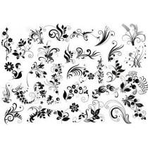 """Оверлей """"Летние цветы"""", размер 30х20 см."""