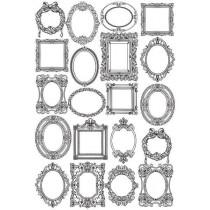 Оверлей Рамочки, размер 21х29,7 см
