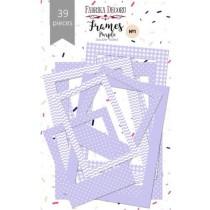 """Набор рамок №1 """"Purple"""" 39шт"""