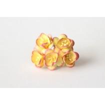Цветы вишни - Желтый+розовый 526, 1 шт.