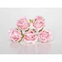 Бутоны роз большие - Розовоперсиковые светлые 124 , 1 шт