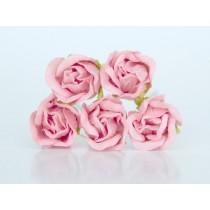 Бутоны роз большие - Розовоперсиковые 123, 1 шт