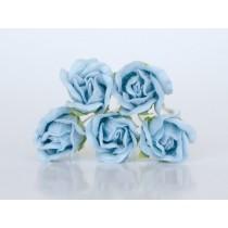 Бутоны роз большие - Голубые 168, 1 шт