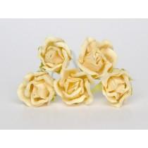 Бутоны роз большие - Молочные 153, 1 шт