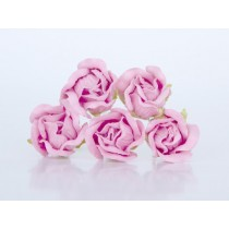 Бутоны роз большие - Св. розовые 121, 1 шт