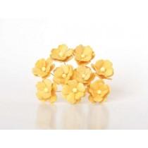 Цветы вишни средние - Желтые 144, 1 шт