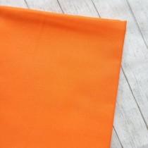 """Премиум сатин """"Оранжевый"""" размер 50х40 см., пл.135 гр/м2, Турция"""