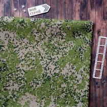 """Отрез ткани """"Пиксель"""" двухсторонняя, светло-зеленый, 33х70 см."""