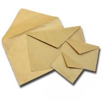 Крафт конверт с треугольным клапаном 114х162 мм (С6), 1 шт.