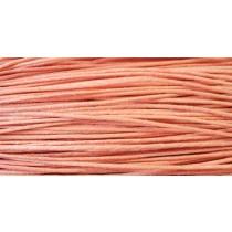 Шнур вощеный 1,2мм (коралловый) 139
