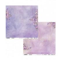 """Лист двусторонней бумаги """"Meadow Impressions 07/08"""" 30,5х30,5 см., пл.250 гр."""