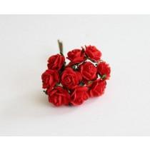 Mini розы 1,5 см - Красные 101, 1 шт.