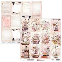 """Лист двусторонней бумаги карточки """"Dear Diary"""" 30,5х30,5 см. пл. 240 г/м 2"""