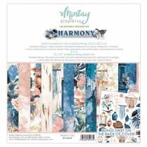 """1/2 набора бумаги """"Harmony"""" 30,5х30,5 см., 6 двусторонних листов, пл. 240 г/м"""