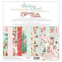 """1/2 набора бумаги """"Sweetest Christmas"""" 30,5х30,5 см., 6 двусторонних листов, пл. 240 г/м"""