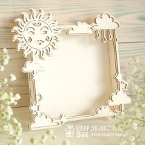 Фото-бокс (Photo Box) солнечный Размеры: 108 x 108 x 20 мм  Pb-005