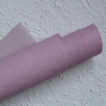 Отрез кожзама на тонкой тканевой основе 50х35 см., розовый