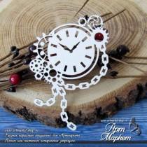 Часы с шестеренками РАЗМЕР: 8,5 х 6,8 см