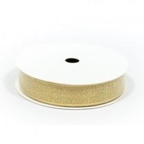 Золотистая лента в намотке, ширина - 1,5 см., длина - 275 см.