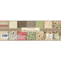 Набор бумаги для скрапбукинга 30,5х30,5 см 190 гр/м Ночь перед Рождеством, 9 листов РУС (5+4)