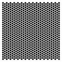 Маска Мини-соты 15,2*15,2см толщина 0,15мм SCB53100014