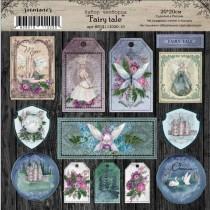 """Набор чипборда """"Fairy tale"""", 20*20см"""
