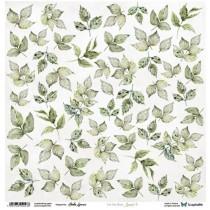 """Лист для вырезания Leaves 3 """"Sapphire Days"""" 30,5х30,5 см., пл.250 гр"""