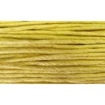 Шнур вощеный 1,2мм / 1м (лимонный) 110 [С504]