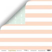 Лист двусторонней бумаги 30x30 от Scrapmir Бесконечность из коллекции Simple Flowers