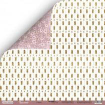 Лист двусторонней бумаги 30x30 от Scrapmir Стрелы из коллекции Unicorns , пл.190 г/м