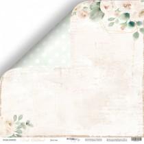 Лист двусторонней бумаги 30x30 от Scrapmir Детство из коллекции Pink Childhood, пл.190 г/м