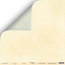 Лист двусторонней бумаги 30x30 от Scrapmir Дамаск из коллекции Little Bear  SM2300007