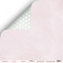 Лист двусторонней бумаги 30x30 от Scrapmir Нежность из коллекции Little Bunny  SM2400005
