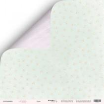 Лист двусторонней бумаги 30x30 от Scrapmir Букет из коллекции Little Bunny  SM2400008
