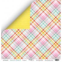 Лист двусторонней бумаги 30x30 от Scrapmir Конфетка из коллекции Sweet Girls  SM2500001
